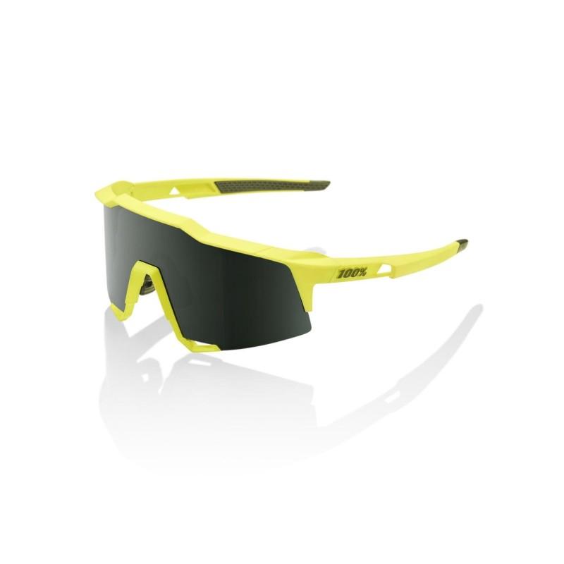 Gafas 100% SPEEDCRAFT - Soft Tact Banana-Grey Green Lens