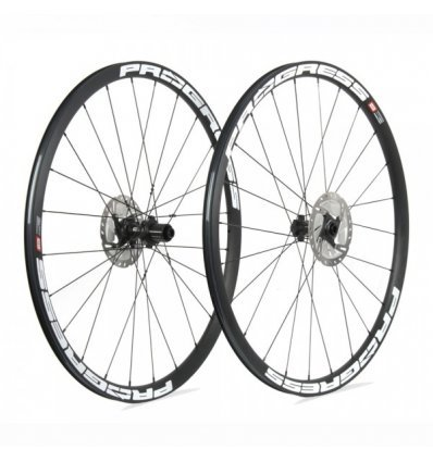 Ruedas Progress JGO Phantom Disc 12x100 y 12x142 Shimano Blanco