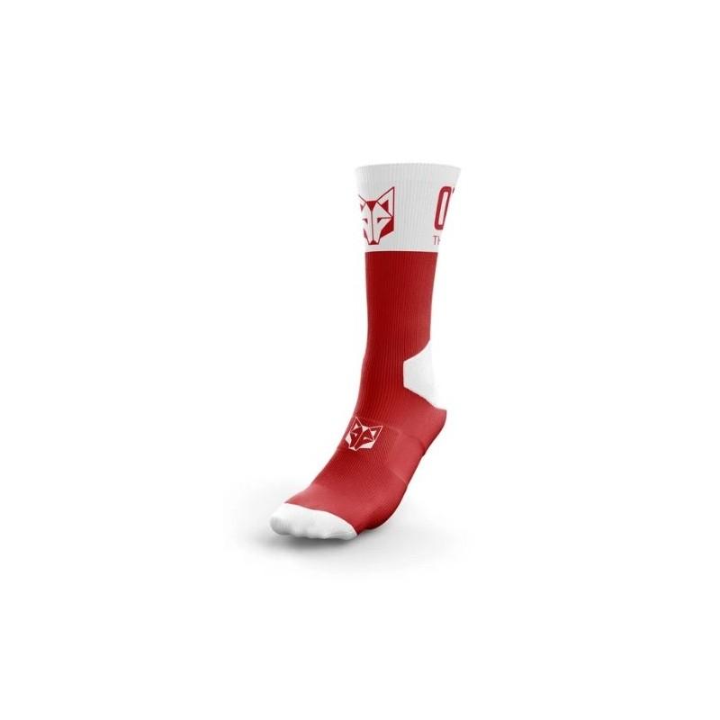 Calcetines Multi-Sport High Cut (red/white)