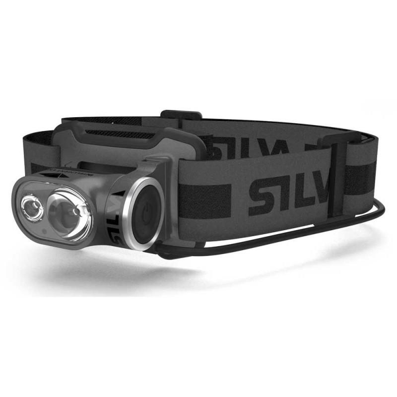 Luz frontal Silva Cross Trail 3X USB negro