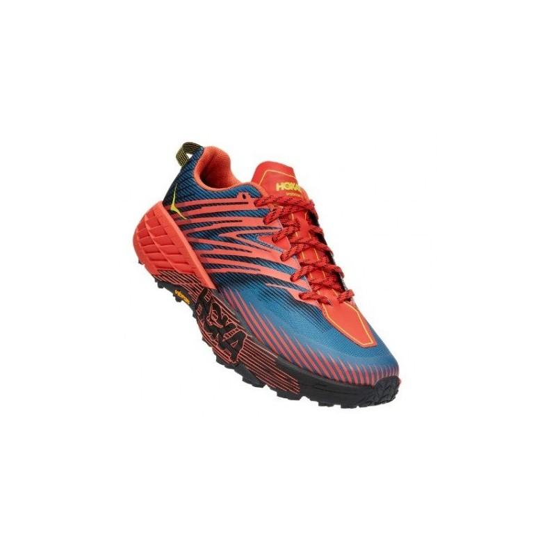 Zapatillas Montaña Speedgoat 4 (Cordovan/High Risk Red)