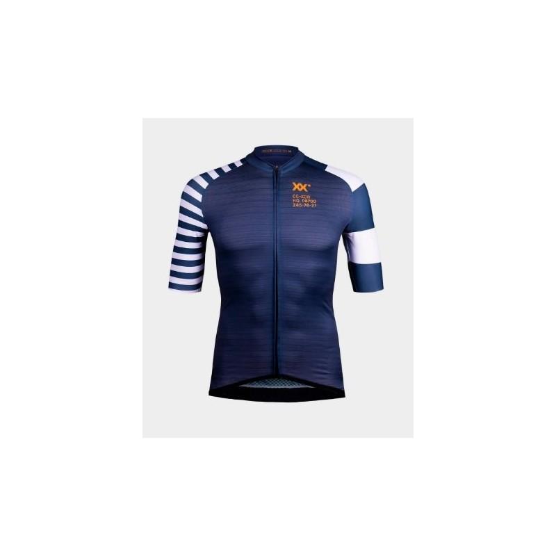 maillot ixcor gaultier manga corta (azul oscuro)