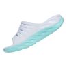 Chanclas Hoka One One ORA Recovery Slide 2 blanco azul claro mujer