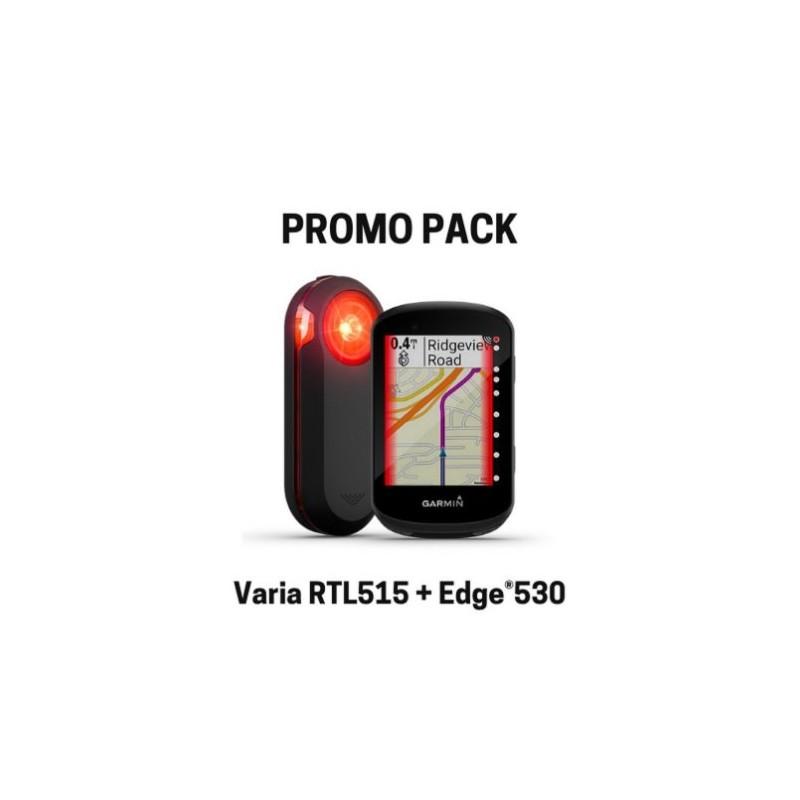 Pack Garmin Edge 530 y Varia RTL515