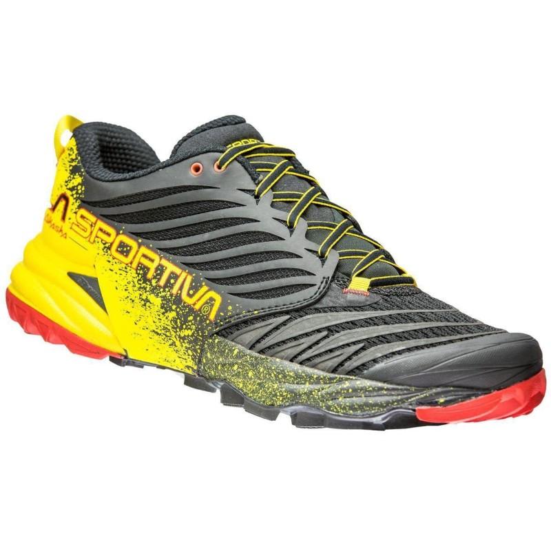 Zapatillas La Sportiva Akasha Black/Yellow