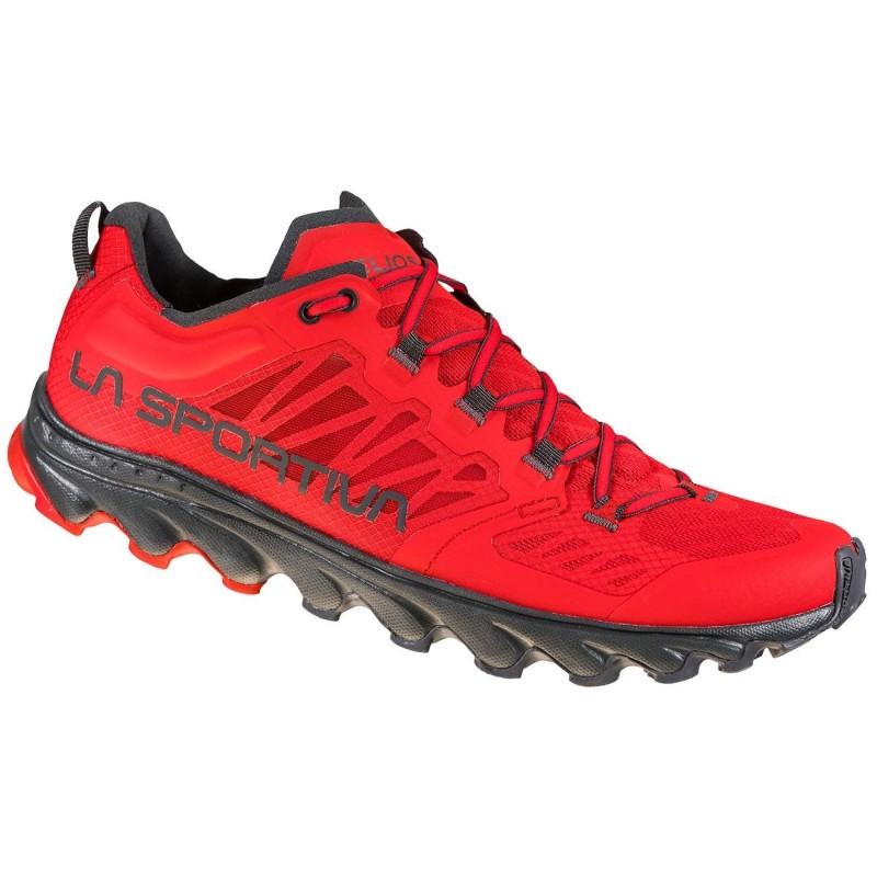 Zapatillas La Sportiva Helios III Goji/Carbon