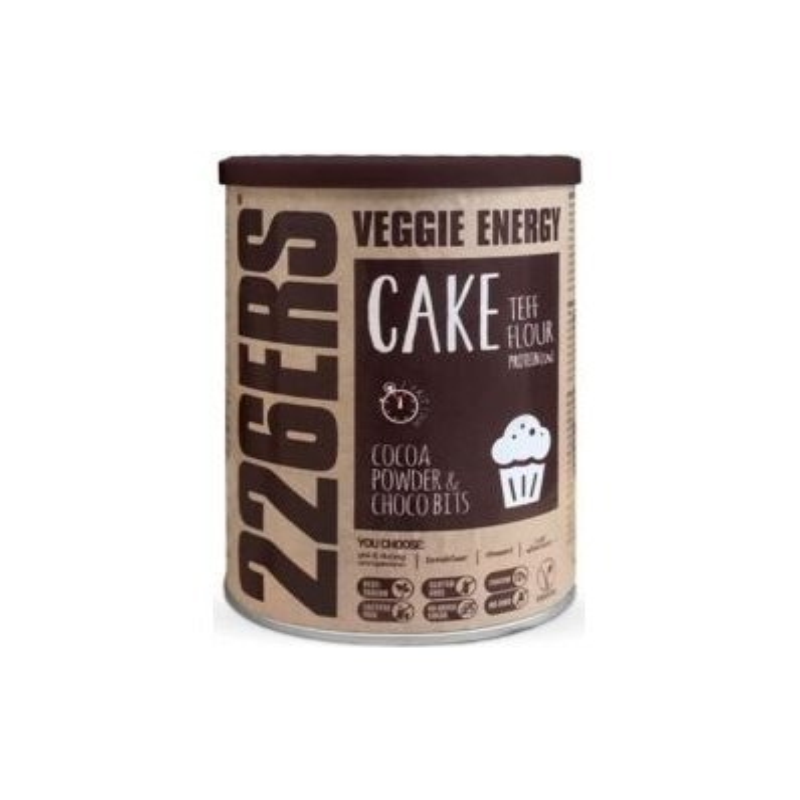 VEGGIE CAKE. TEFF FLOUR & CHOCO BITS