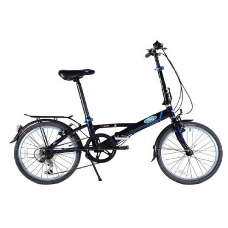 bicicleta plegable ford s-max - trideporte