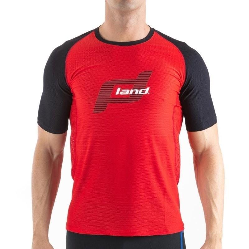 Camiseta Land Hombre Reference roja