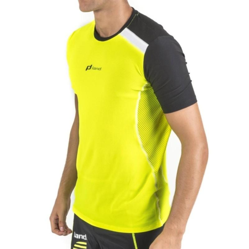Camiseta M/Corta Hombre Fanatic (amarillo neon-negro)
