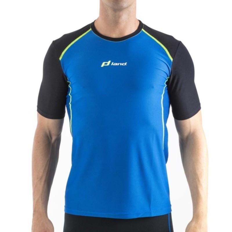 Camiseta M/Corta Hombre Explosive (azul-negro)