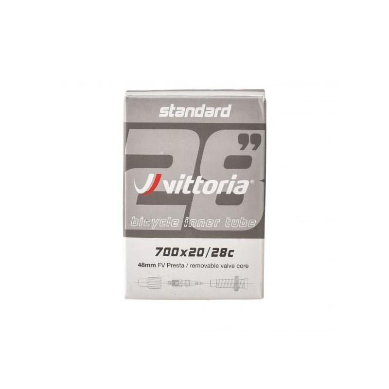 Cámara de aire VITTORIA STANDARD 700x20/28c Válvula 48 mm