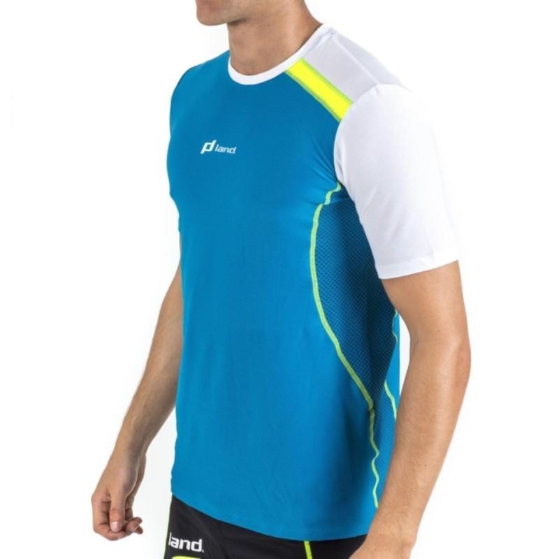 Camiseta M/Corta Hombre Fanatic (azul-blanco)