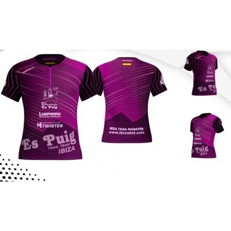 Camiseta Personalizable Trail Ultralight FireHawk